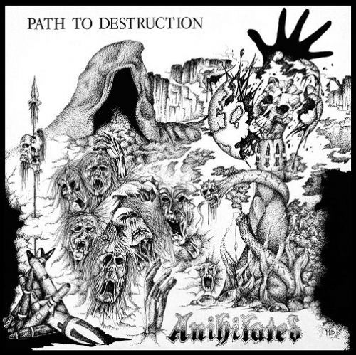 ANIHILATED Path To Destruction Vinyl Record LP Agipunk 2011